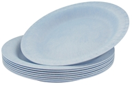 "Susty Party - Compostable Disposable Plates 10"" Light Blue - 8 Count CLEARANCED PRICED by Susty Party"
