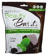 Neocell Laboratories - Beauty Bursts Gourmet Collagen Fresh Mint Chocolate - 60 Soft Chews - $16.95