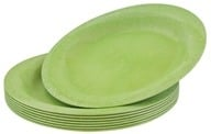"Susty Party - Compostable Disposable Plates 10"" Light Green - 8 Count by Susty Party"