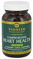 Pioneer - Comprehensive Heart Health Vegetarian - 60 Vegetarian Capsules CLEARANCED PRICED (032811000368)
