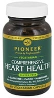 Pioneer - Comprehensive Heart Health Vegetarian - 60 Vegetarian Capsules CLEARANCED PRICED, from category: Nutritional Supplements