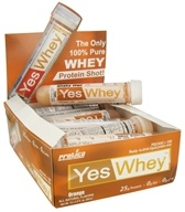 Protica Nutritional Research - Yes Whey RTD Liquid Protein Shot Orange - 2.9 oz.