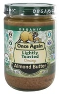 Image of Once Again - Organic Raw Almond Butter Creamy - 16 oz.