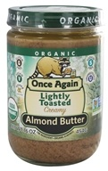 Once Again - Organic Raw Almond Butter Creamy - 16 oz.