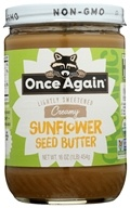 Once Again - Organic Sunflower Seed Butter - 16 oz. (044082530314)