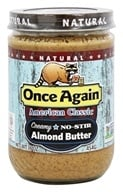 Once Again - Natural American Classic Almond Butter Creamy - 16 oz. (044082024417)
