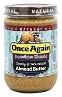 Once Again - Natural American Classic Almond Butter Creamy - 16 oz. - $10.49