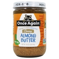Image of Once Again - Natural Almond Butter Creamy - 16 oz.