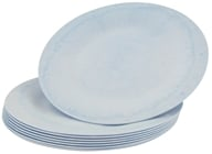 "Susty Party - Compostable Disposable Plates 7"" Light Blue - 8 Count CLEARANCED PRICED - $3"