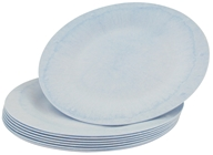 "Image of Susty Party - Compostable Disposable Plates 7"" Light Blue - 8 Count CLEARANCED PRICED"