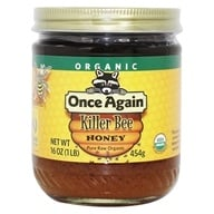 Once Again - Dawes Hills Pure Raw Organic Grade A Honey Killer Bee - 16 oz.
