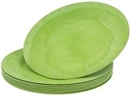 "Susty Party - Compostable Disposable Plates 7"" Light Green - 8 Count CLEARANCED PRICED"