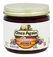 Once Again - Dawes Hills Pure Raw Grade A Honey Clover - 16 oz., from category: Health Foods