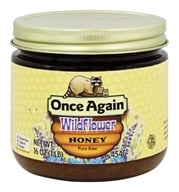 Once Again - Dawes Hills Pure Raw Grade A Honey Wildflower - 16 oz. (044082439013)