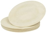 "Image of Susty Party - Compostable Disposable Plates 7"" Natural - 8 Count CLEARANCED PRICED"
