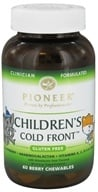 Pioneer - Children's Cold Front Berry - 60 Chewables, from category: Nutritional Supplements