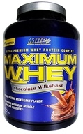 MHP - Maximum Whey Ultra-Premium Whey Protein Complex Chocolate Milkshake - 5 lbs. CLEARANCED PRICED (666222091945)