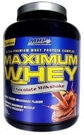 MHP - Maximum Whey Ultra-Premium Whey Protein Complex Chocolate Milkshake - 5 lbs. CLEARANCED PRICED by MHP