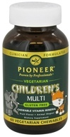 Pioneer - Children's Multi Vegetarian Fruit Flavor - 60 Chewables, from category: Vitamins & Minerals