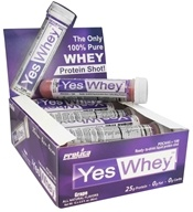 Protica Nutritional Research - Yes Whey RTD Liquid Protein Shot Grape - 2.9 oz. by Protica Nutritional Research