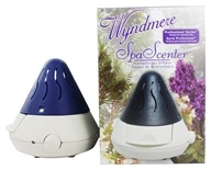 Wyndmere Naturals - Aromatherapy Diffuser SpaScenter Professional Series 5.25 in. x 5 in. Blue