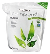 Nutiva - Organic Hemp Seed Raw Shelled - 5 lbs. by Nutiva