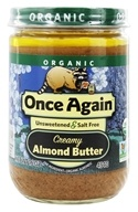 Once Again - Organic Almond Butter Creamy - 16 oz., from category: Health Foods