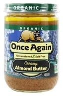 Once Again - Organic Almond Butter Creamy - 16 oz. - $18.60
