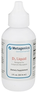 Metagenics - D3 Liquid 1000 IU - 2 oz., from category: Professional Supplements