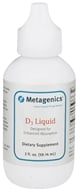 Metagenics - D3 Liquid 1000 IU - 2 oz.