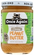 Once Again - Organic American Classic Peanut Butter Creamy - 16 oz., from category: Health Foods