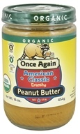 Once Again - Organic American Classic Peanut Butter Crunchy - 16 oz. by Once Again