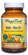 MegaFood - Men Over 55 Multivitamin - 60 Tablets - $25.56