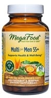 MegaFood - Men Over 55 Multivitamin - 60 Tablets by MegaFood