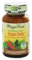 MegaFood - Vegan Daily Multivitamin - 90 Tablets by MegaFood