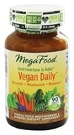 MegaFood - Vegan Daily Multivitamin - 90 Tablets - $39.97
