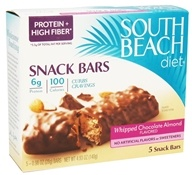 South Beach Diet - Snack Bars Whipped Chocolate Almond - 5 Bars (855919003709)