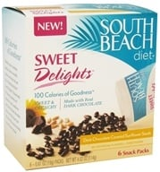 South Beach Diet - Sweet Delights Dark Chocolate Covered Sunflower Seeds - 6 Pack(s) (855919003617)