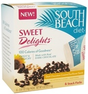South Beach Diet - Sweet Delights Dark Chocolate Covered Sunflower Seeds - 6 Pack(s), from category: Health Foods