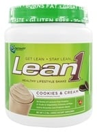 Nutrition 53 - Lean1 Performance Shake Cookies & Cream - 1.3 lbs., from category: Sports Nutrition