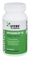 Image of LuckyVitamin - Vitamin B-12 Timed Release 1000 mcg. - 60 Tablets OVERSTOCKED