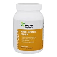 LuckyVitamin - Hair, Skin & Nails - 120 Tablets