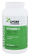 LuckyVitamin - Vitamin C With Rose Hips 1000 mg. - 250 Tablets by LuckyVitamin
