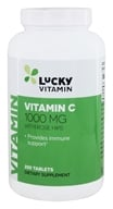 Image of LuckyVitamin - Vitamin C With Rose Hips 1000 mg. - 250 Tablets