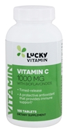 LuckyVitamin - Vitamin C Timed Release with Bioflavonoids 1000 mg. - 100 정제