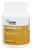 Image of LuckyVitamin - Coenzyme Q-10 100 mg. - 120 Softgels