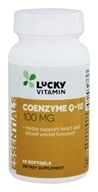 Image of LuckyVitamin - Coenzyme Q-10 100 mg. - 60 Softgels
