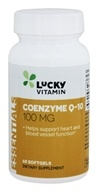 LuckyVitamin - Coenzyme Q-10 100 mg. - 60 Softgels by LuckyVitamin