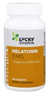 LuckyVitamin - Melatonin 5 mg. - 100 Tablets by LuckyVitamin