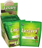 Nutrition 53 - Lean1 Performance Shake Chocolate - 15 x 2.1 oz. Packets